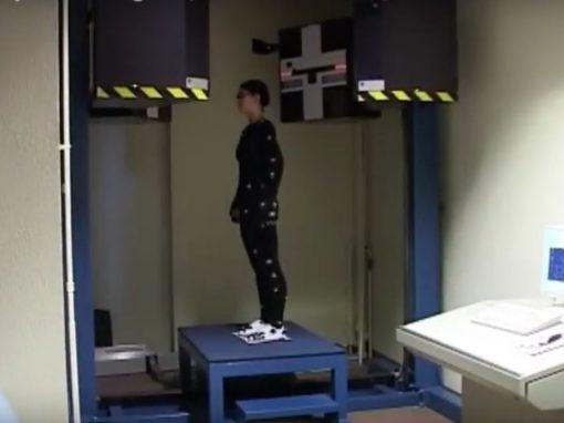 Virtual hip joint